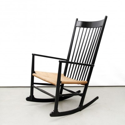 J 16 Rocking Chair By Hans Wegner For FDB Møbler, 1950s