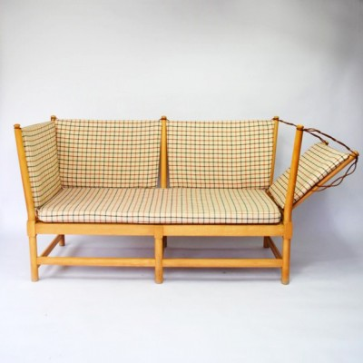 Spoke Back Sofa From The Forties By B 248 Rge Mogensen For