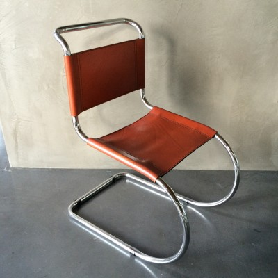 4 X Mr 533 Dining Chair By Ludwig Mies Van Der Rohe For Thonet