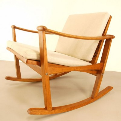 Rocking Chair by Finn Juhl for France and Son