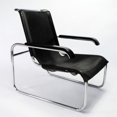 b35 lounge chair by marcel breuer for thonet 17126. Black Bedroom Furniture Sets. Home Design Ideas