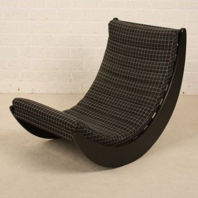 relaxer rocking chair by verner panton for rosenthal 17470