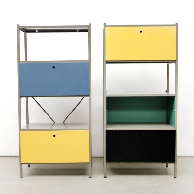 images of a kitchen cabinets 2 x model 663 cabinet by wim rietveld for gispen 1950s 17783