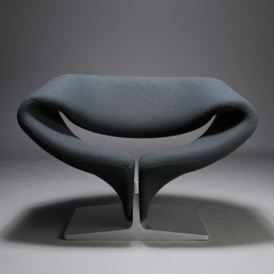 2 X Ribbon Lounge Chair By Pierre Paulin For Artifort, 1960s