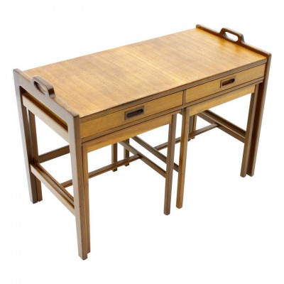 Nesting Table by Unknown Designer for Tibro Sweden