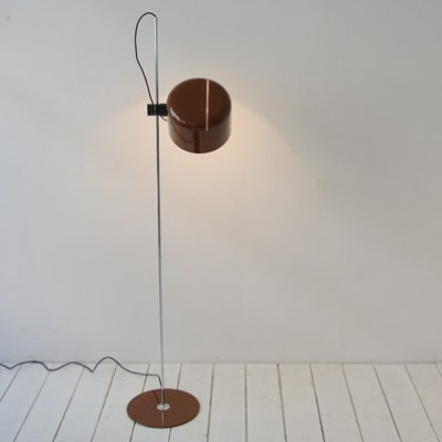 Coupé floor lamp by joe colombo for oluce 1960s