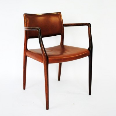 65 Dinner Chair by Niels Otto Møller for J L Møller