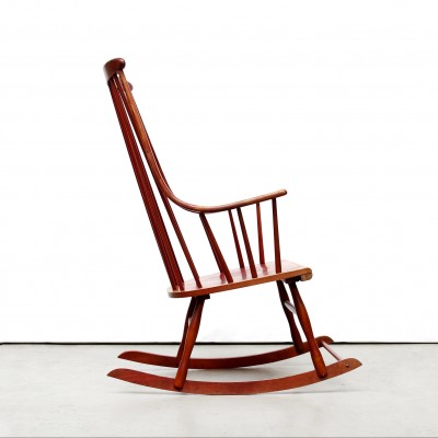 Rocking Chair By Lena Larsson For Grandessa, 1950s
