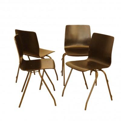 6106 Dinner Chair by Kho Liang Ie for CAR Catwijk