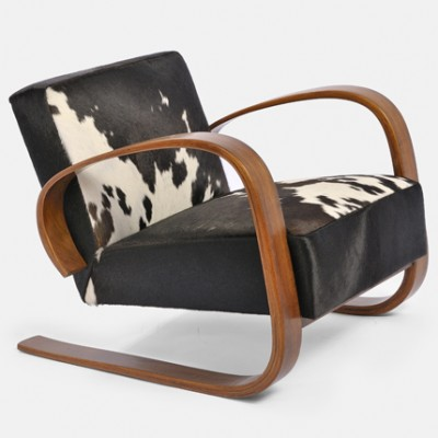 Model 37 400 Variant Of Tank Lounge Chair By Alvar Aalto For Up Závody 1930s