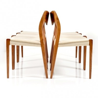 71 Dinner Chair by Niels Otto Møller for J L Møller