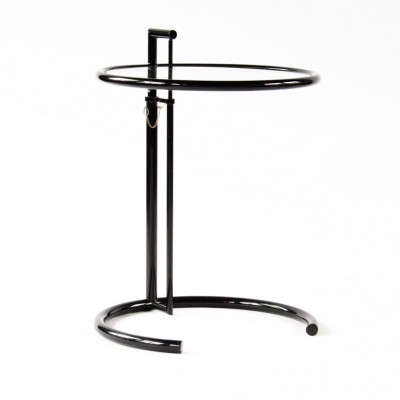 E 1027 Side Table By Eileen Gray For Classicon 1980s 20652