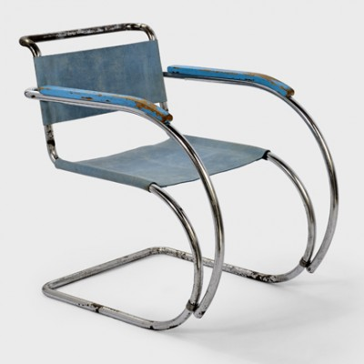 mr 534 mr 20 lounge chair by ludwig mies van der rohe for unknown