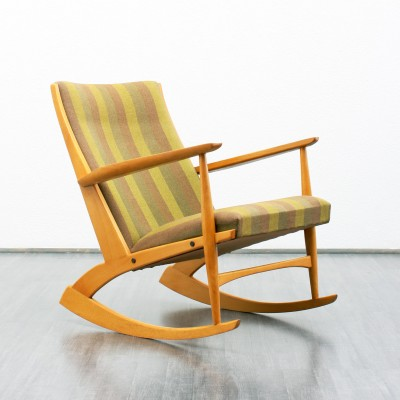 Modell 97 Rocking Chair by Georg Jensen for Kubus