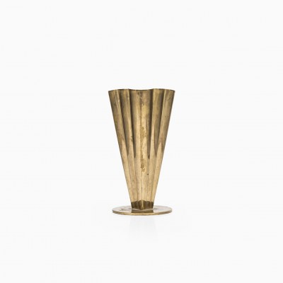 Vase by Unknown Designer for Ystad Metall