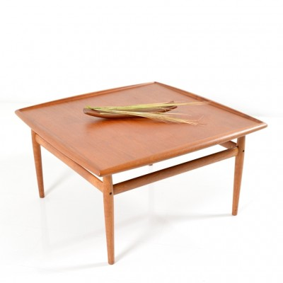 Large version square Coffee Table by Grete Jalk for Glostrup