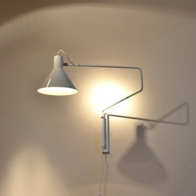 Elbow 748-08 Wall Lamp by J. Hoogervorst for Anvia Almelo