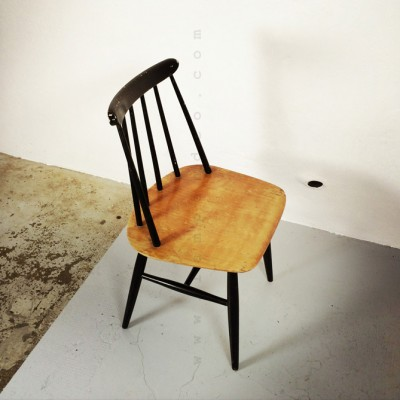 Fanett Dinner Chair by Ilmari Tapiovaara for Unknown Manufacturer