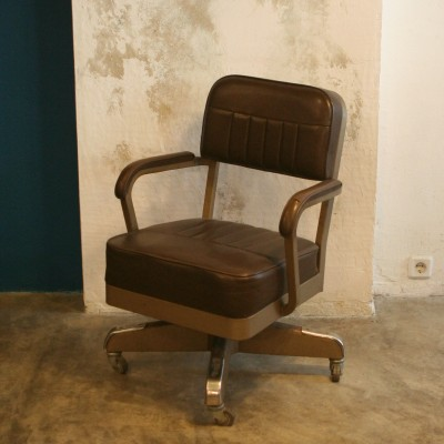 Director Office Chair By Lusodex 1960s 22007
