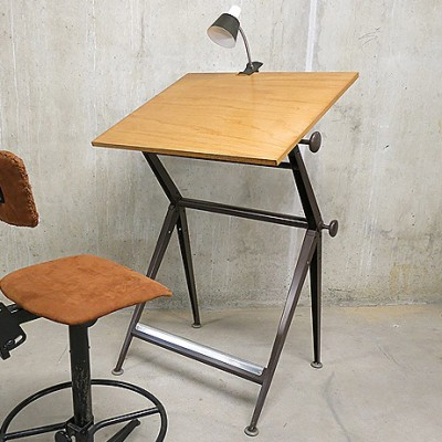 Drawing table Writing Desk by Wim Rietveld and Friso Kramer for Ahrend de Cirkel