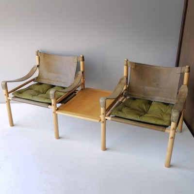 Scirocco Safari Lounge Chair by Arne Norell for Aneby Møbler