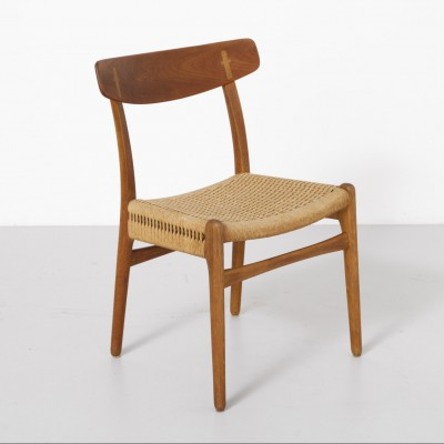 CH23 Dinner Chair by Hans Wegner for Carl Hansen and Son