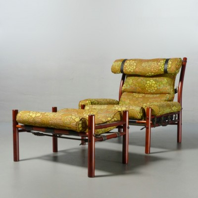 Inca Lounge Chair By Arne Norell 1970s 22784
