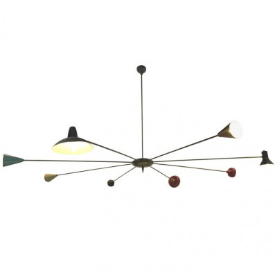 Chandelier Hanging Lamp by Unknown Designer for Stilnovo