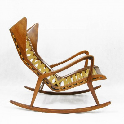 Model 572 Rocking Chair By Gio Ponti For Cassina, 1950s