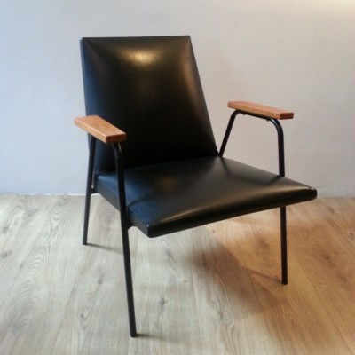 lounge chair from the fifties by pierre guariche for. Black Bedroom Furniture Sets. Home Design Ideas