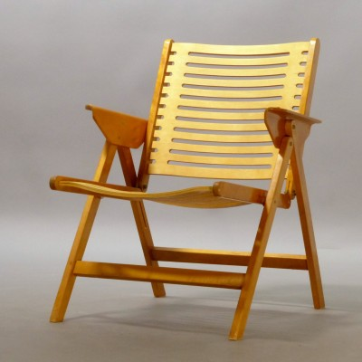 Gato de salto secuencia en  2 x Rex Folding Chair lounge chair by Niko Kralj for Stol, 1950s | #23502
