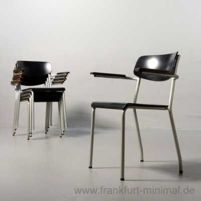 Ferdinand Kramer 5 x eron armchair dinner chair by ferdinand kramer for eron 1950s