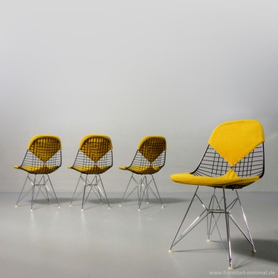 DKR-2 Wire Dinner Chair by Charles and Ray Eames for Herman Miller