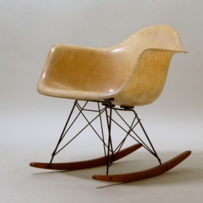 RAR Rocking Chair By Charles U0026 Ray Eames For Zenith Plastics, 1940s