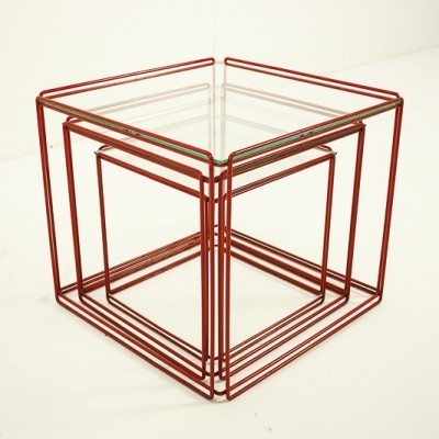 Isocel Nesting Table by Max Sauze for Unknown Manufacturer
