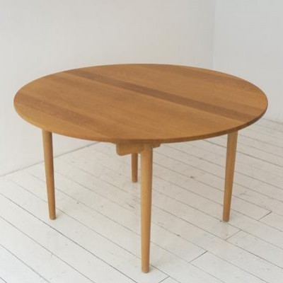 AT337 Dining Table by Hans Wegner for Andreas Tuck