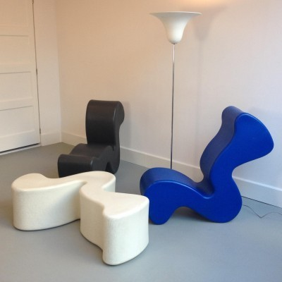 Phantom lounge chair by verner panton for innovation randers 23763 - Verner panton phantom chair ...