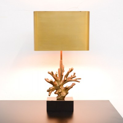 Corail Desk Lamp by Jacques Charles for Maison Charles