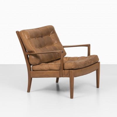 Lounge Chair by Arne Norell for Arne Norell AB