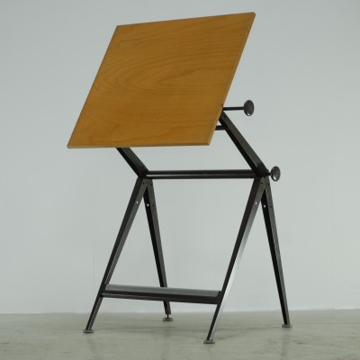 Reply Drawing Table Writing Desk by Friso Kramer and Wim Rietveld for Ahrend de Cirkel