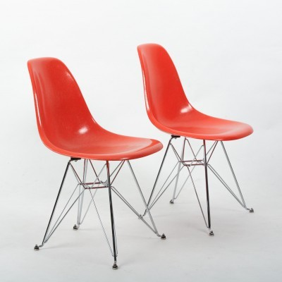 3 x Sideshell dining chair by Charles & Ray Eames for Herman Miller