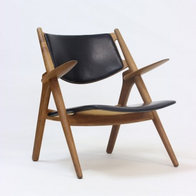 CH-28 Lounge Chair by Hans Wegner for Carl Hansen and Son
