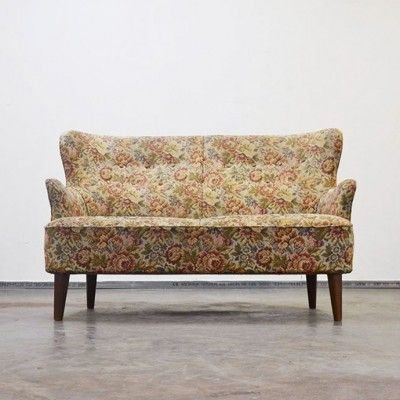 Love Seat Sofa by Theo Ruth for Artifort