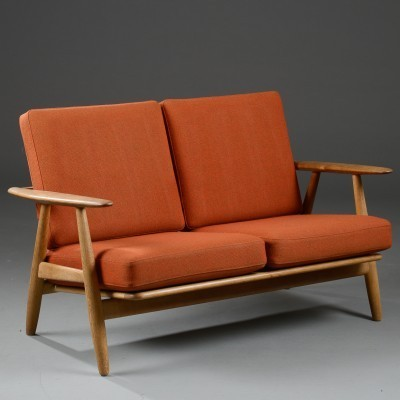 Model GE240/2 Cigar Sofa by Hans Wegner for Getama