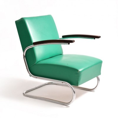 S 411 Lounge Chair By Thonet, 1950s