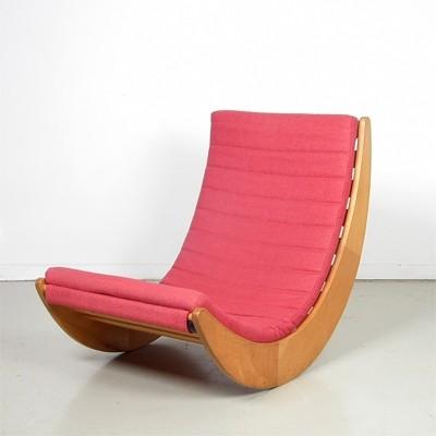 relaxer 2 rocking chair by verner panton for rosental studio line