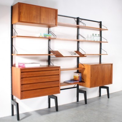 Royal System Wall Unit by Poul Cadovius for Unknown Manufacturer