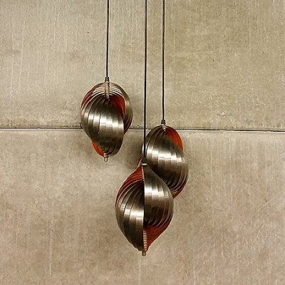 Applique Apt Hanging Lamp by Henri Mathieu for Unknown Manufacturer