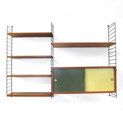 String Shelving Wall Unit by Nisse Strinning for String Design AB