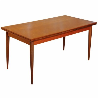 Dining table by Oswald Vermaercke for V Form, 1950s
